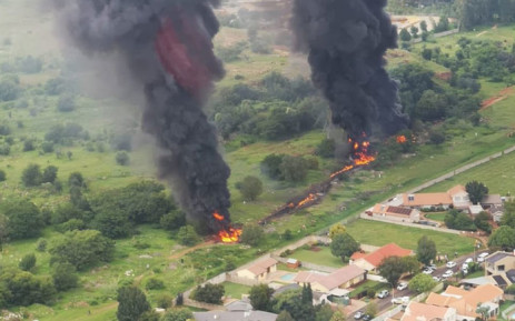 Alberton fuel pipeline fire - Alberton Pipeline Fire Under Control