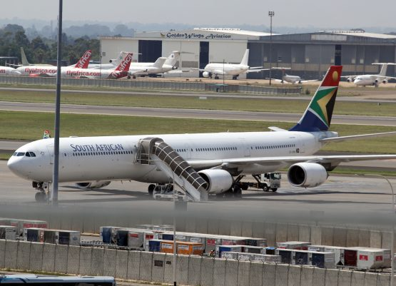 SAA - SAA Named Among Top Airlines Globally For On-Time Arrivals